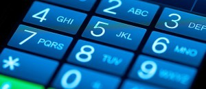 Teclado teléfono