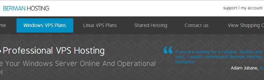 Seleccionar Windows VPS Plans