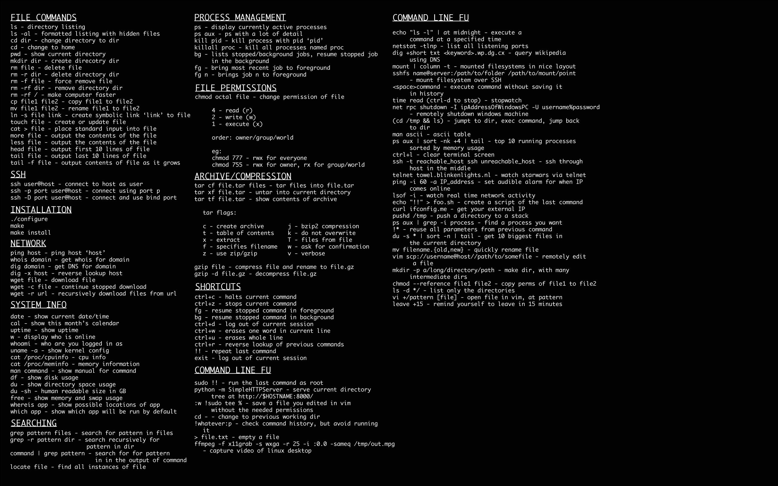 Consola de comandos Linux