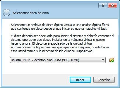 Paso 3 instalar máquina virtual