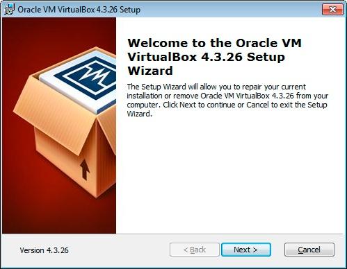 Paso 1 Instalación VirtualBox