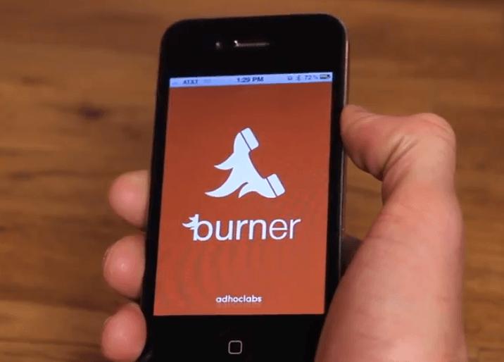 Aplicación Burner