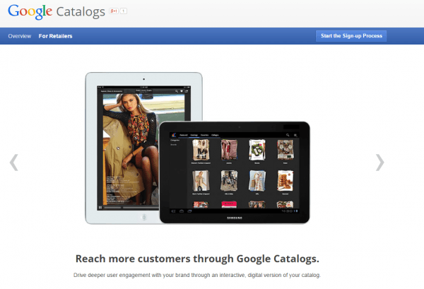Google Catalogs