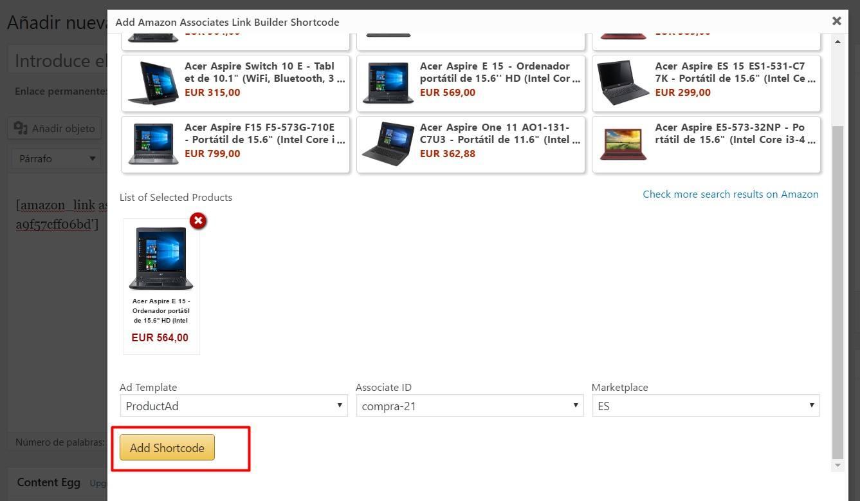 Amazon Associates Link Builder, el plugin oficial de Amazon