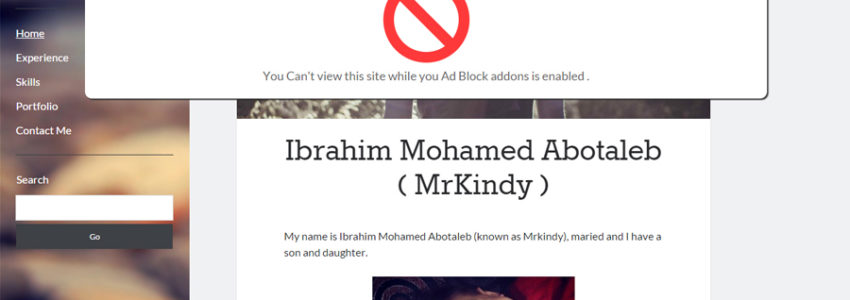 Plugin Block Adblock